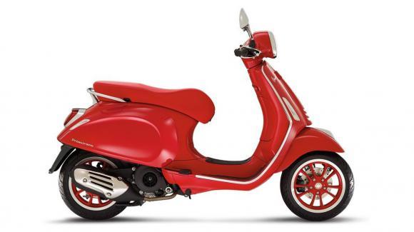 VESPA PRIMAVERA RED E5 125